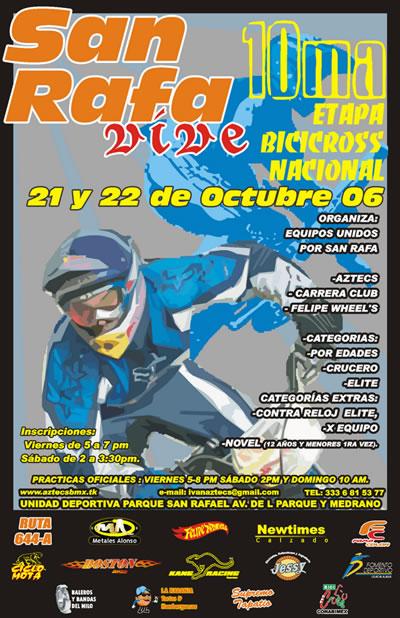 X Etapa Nacional de BMX