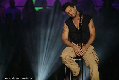 Ricky Martin en Guadalajara - Black and White Tour