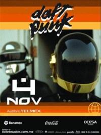 Daft Punk en Guadalajara, en el Auditorio Telmex, Metropolitano, Jalisco