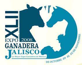 Logotipo de la Expo Ganadera Jalisco 2008