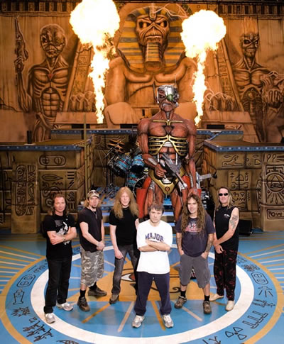 Iron Maiden vuelve este 2009 a tierras tapatias en la Arena VFG