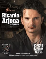 Ricardo Arjona, Quinto Piso Tour