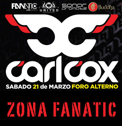 Carl Cox @ Foro Altern