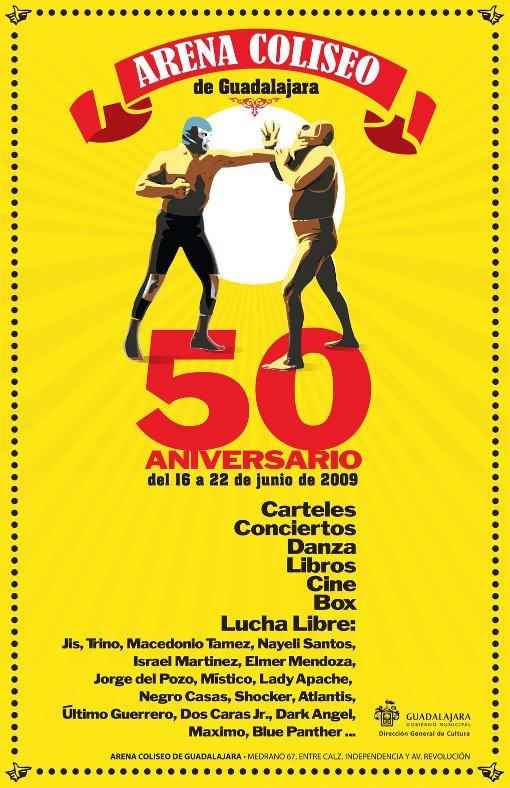 Festival 50 Aniversario Arena Coliseo