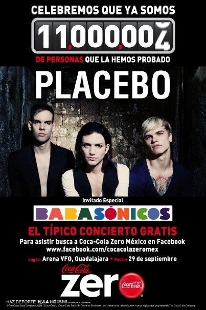 Placebo y Babasónicos en concierto