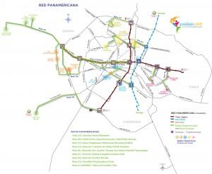 Transporte Público Juegos Panamericanos