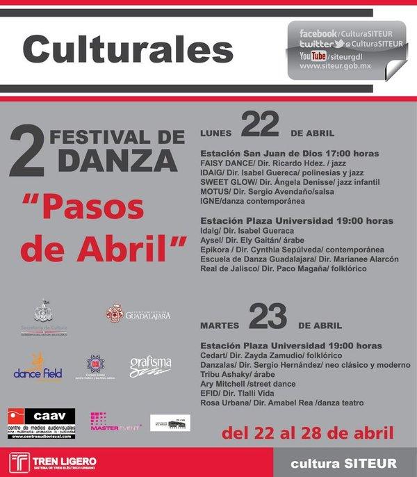 """Festival de Danza """"Pasos de Abril"""""""