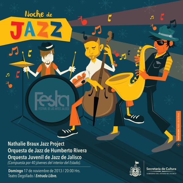 Noche de Jazz en el Degollado