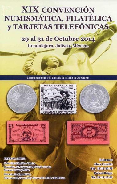 Convención Numismática, Filatélica y Tarjetas Telefónicas