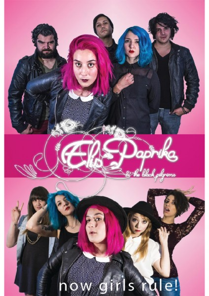 Now Girls Rule nuevo disco Elis Paprika