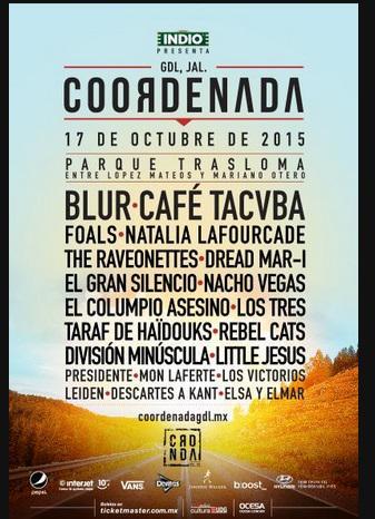 Cartel Coordenada 2015