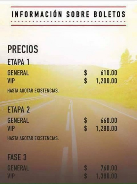 Precios Coordenada 2015