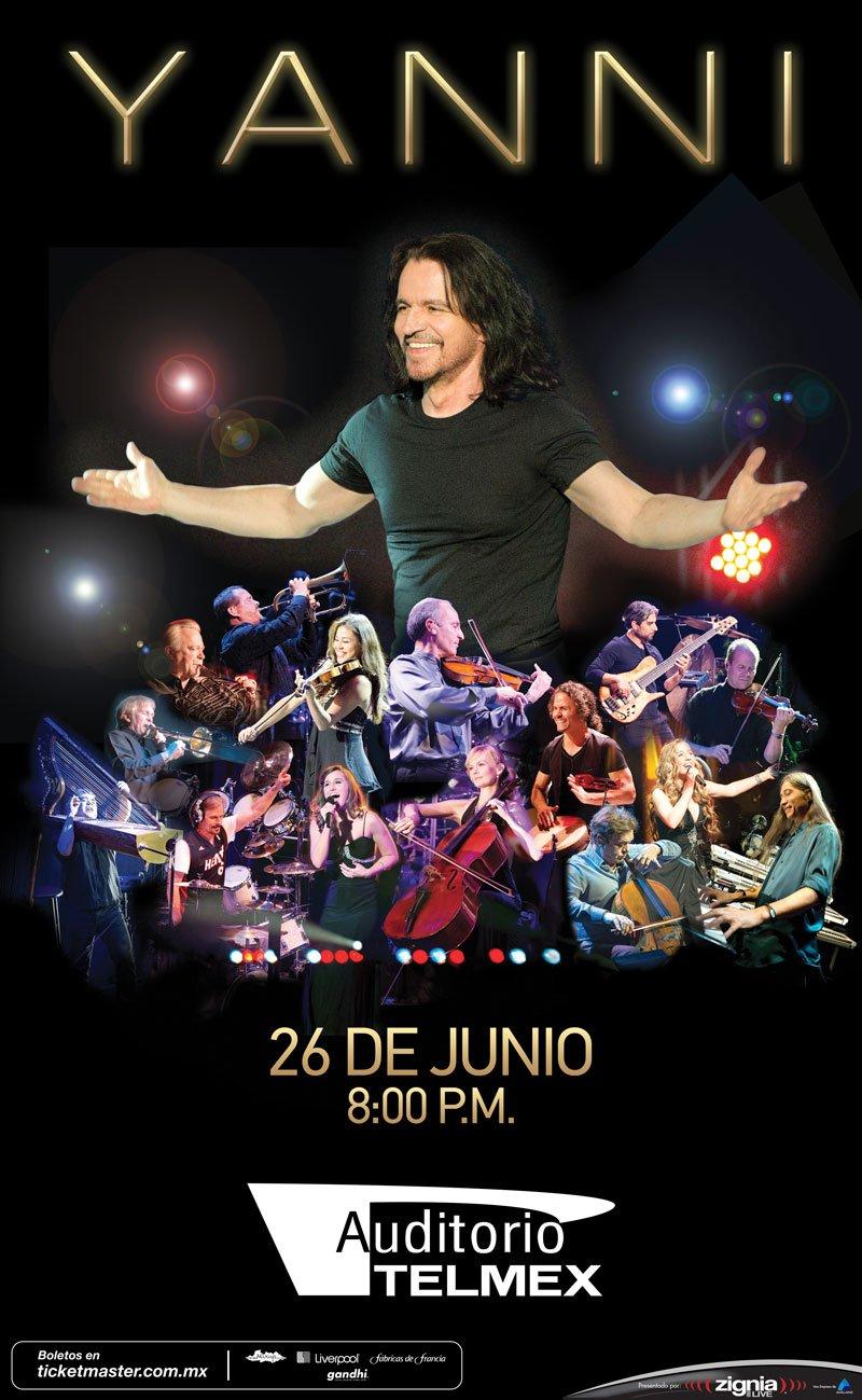 Yanni en el Auditorio Telmex