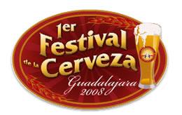 Logotipo del Primer Festival de la Cerveza en Guadalajara
