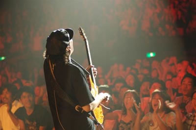 Santana Vivia Tu Luz Tour en Tierras tapatias.