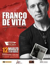Franco de Vita, Tour 2009 en Guadalajara