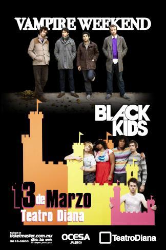 Vampire Weekend y Black Kids@Teatro Diana