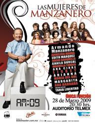 Las mujeres de Mazanero, Auditorio Telmex