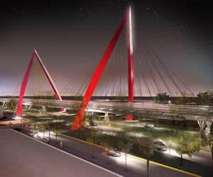 Puente atirantado Matute Remus, Guadalajara, Jalisco