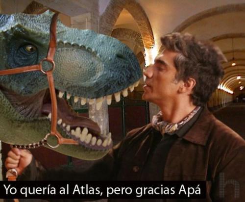 Sospechoso del robo del dinosaurio robotico