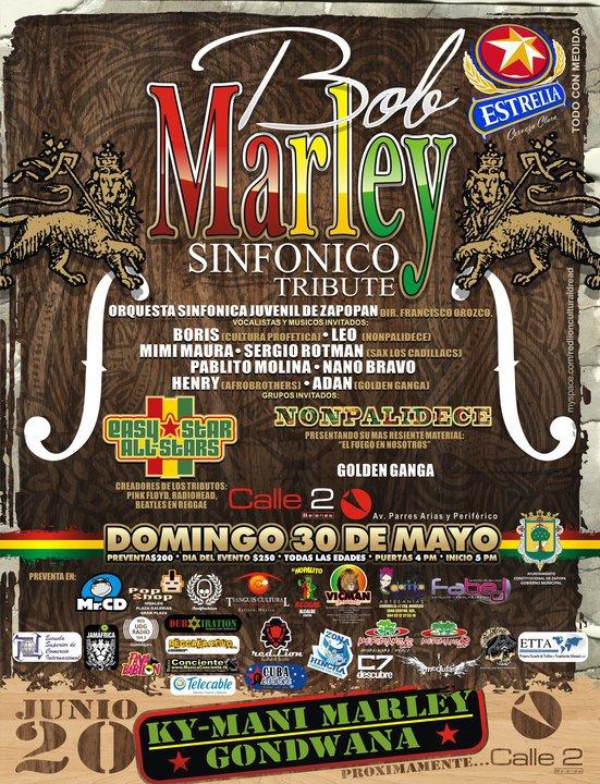 Bob Marley tributo sinfónico