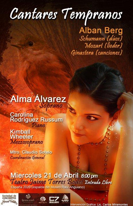 Imagen promociones Cantares Tempranos en el Teatro Jaime Torres Bodet