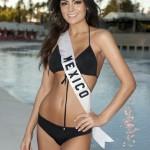 Miss Mexico 2010 Jimena Navarrete poses in her swimsuit in Las Vegas