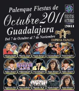 Artistas Palenque Fiestas de Octubre