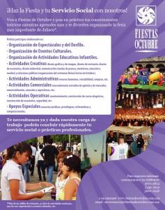 Servicio Social Fiestas de Octubre