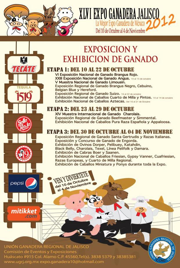 Programa Expo Ganadera 2012