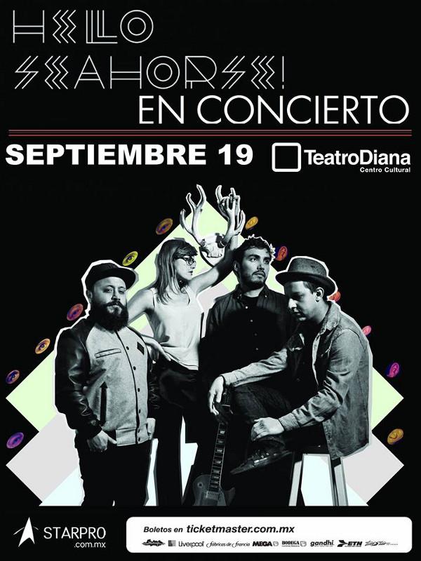 Concierto de Hello Seahorse! en Guadalajara
