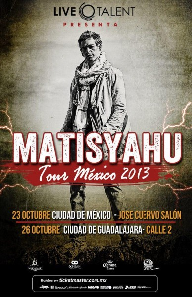 Matisyahu en Guadalajara