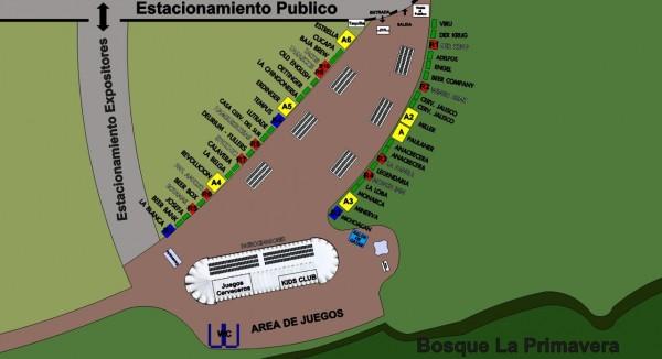 Mapa de stands