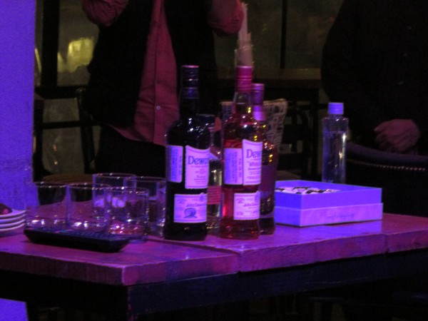 Guadalajara cede de la primer presentación Whiskey Dewars a nivel nacional.