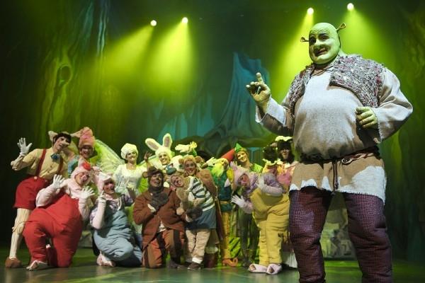 Shrek, Musical en el teatro Diana