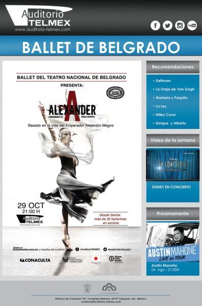 Ballet Alexander desde Bélgica