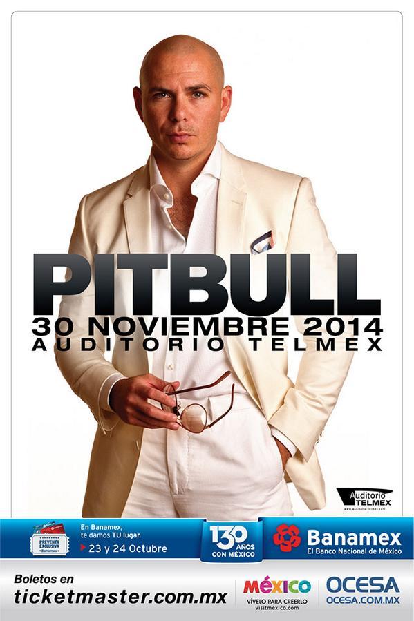 Pitbull en Guadalajara