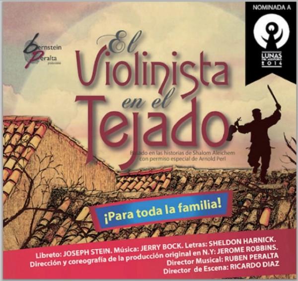 El violinista en el tejado musical