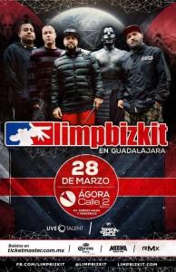 Limp Bizkit en GDL