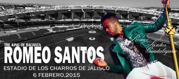 Romeo Santos en GDL