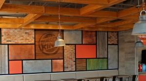 Nueva decoración Burger King